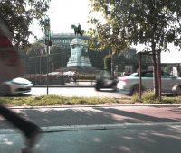 Laura Di Francesco - Statua di G. Garibaldi. Milano, Piazza Cairoli.